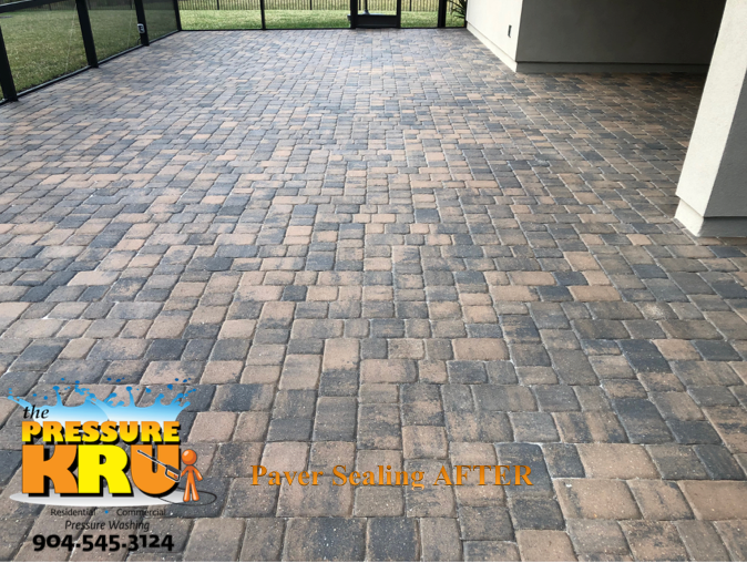 Paver Sealing Patio Saint Johns, FL